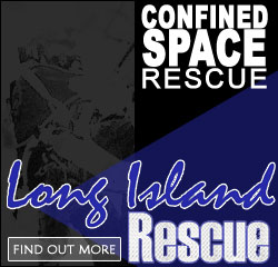 Confined Space Rescue Training with Long Island Rescue!
